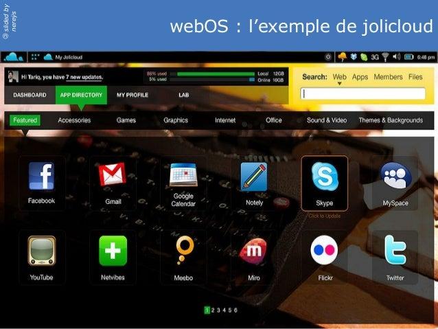 slidedby nereÿs © webOS : l'exemple de jolicloud