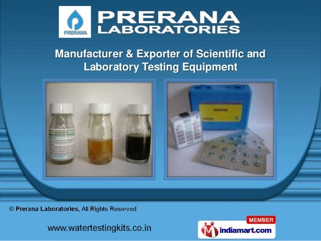 Manufacturer & Exporter of Scientific and    Laboratory Testing Equipment