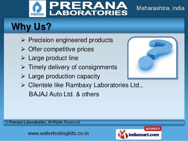 Water & Soil Testing Kits by Prerana Laboratories, Pune  Slide 3