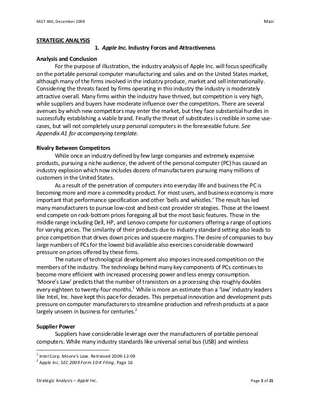 Ansoff applied to apple inc essay