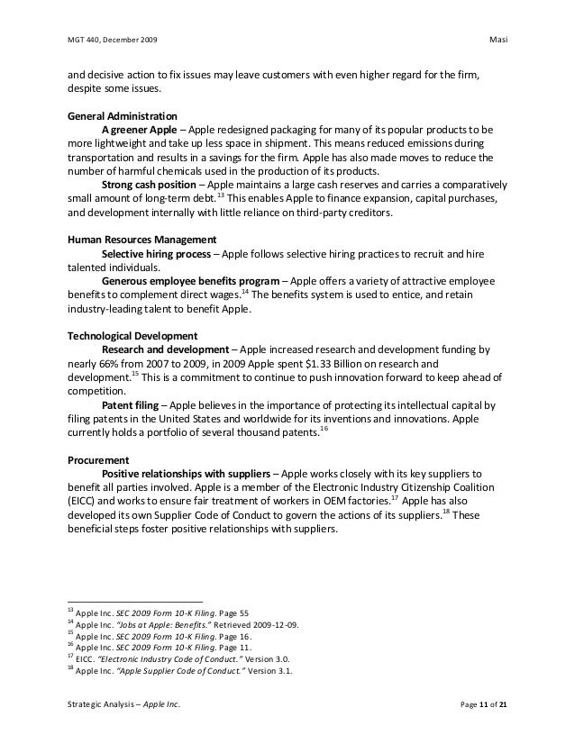 problems with apple inc an analysis Writepass - essay writing - dissertation topics [toc]introductionmarket environmentmarketing approach of applediscussionconclusionrecommendationsreferencesrelated introduction 523 apple inc is known for its innovative ability to gain competitive advantage since 3rd.