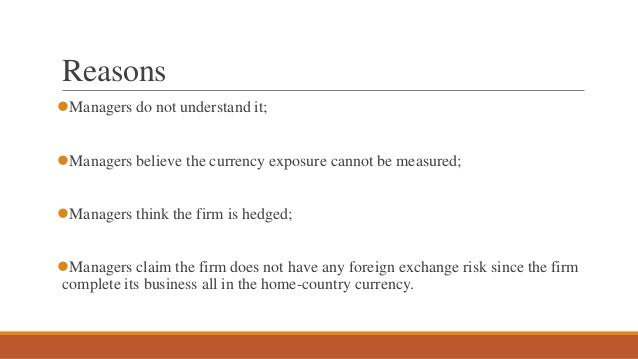 Global foreign exchange
