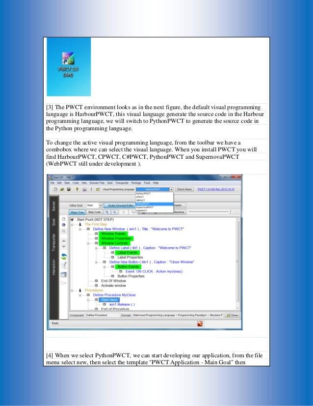 using python inside programming without coding technology