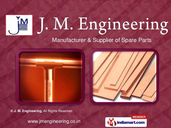 Manufacturer & Supplier of Spare Parts<br />