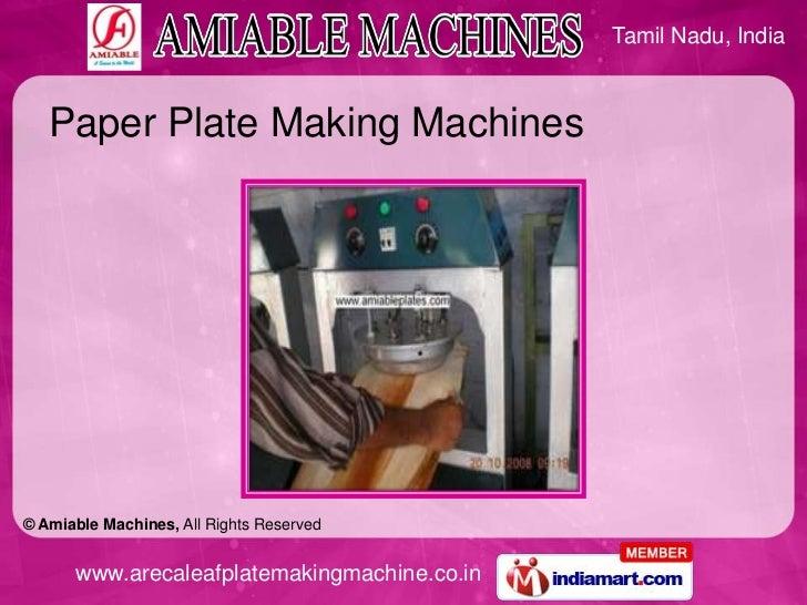 Areca nut plate making machine in bangalore dating 9