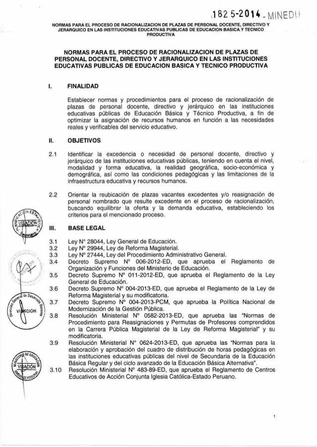 Res. N°-1825-2014-MINEDU. 16.102014 Slide 3