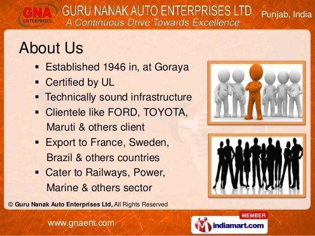 Rear Axle Shafts by Guru Nanak Auto Enterprises Ltd, Goraya  Slide 2