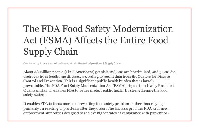safety of food aditives in the food supply 2012-12-6 food safety magazine  an overview of antimicrobial ingredients  of novel antimicrobial systems for food applications to improve safety and quality.