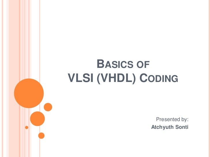 Where can I learn VHDL from its basics? - Quora