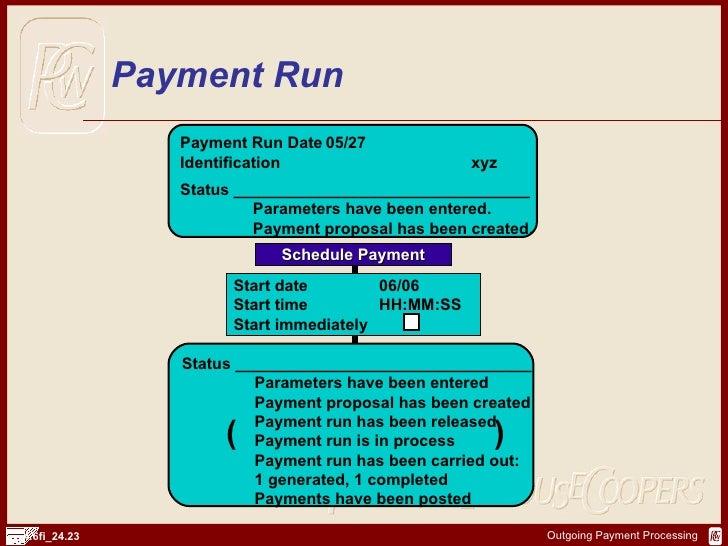 SAP FI Payment Processsing | http://sapdocs.info
