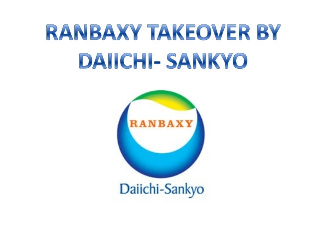 • Ranbaxy - access to Daiichi's expertise in research • Daiichi - benefit from low-cost production