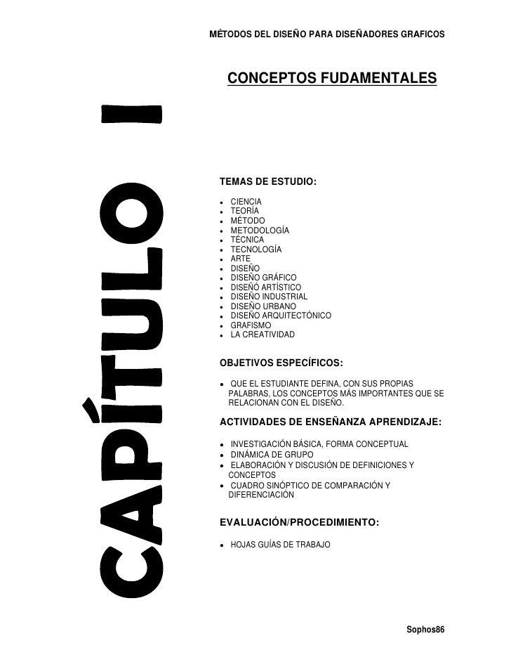 MÉTODOS DEL DISEÑO PARA DISEÑADORES GRAFICOS   CONCEPTOS FUDAMENTALES TEMAS DE ESTUDIO:    CIENCIA    TEORÍA    MÉTODO    ...