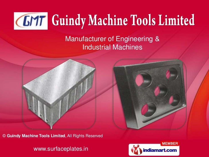 Manufacturer of Engineering &                                   Industrial Machines© Guindy Machine Tools Limited, All Rig...