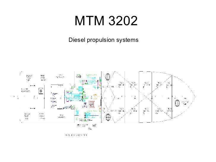 MTM 3202Diesel propulsion systems