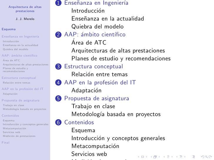 Proyecto docente cátedra: Arquitectura de Altas Prestaciones Slide 2