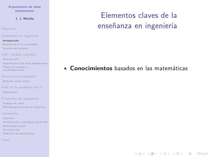 Proyecto docente cátedra: Arquitectura de Altas Prestaciones Slide 3