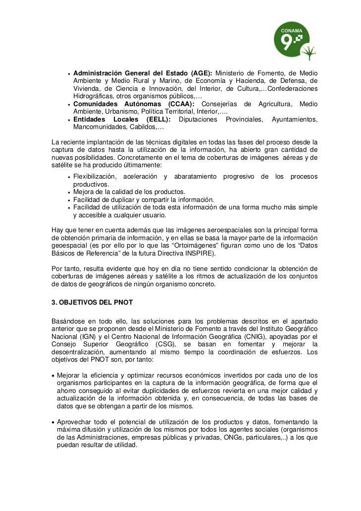    Administración General del Estado (AGE): Ministerio de Fomento, de Medio         Ambiente y Medio Rural y Marino, de E...