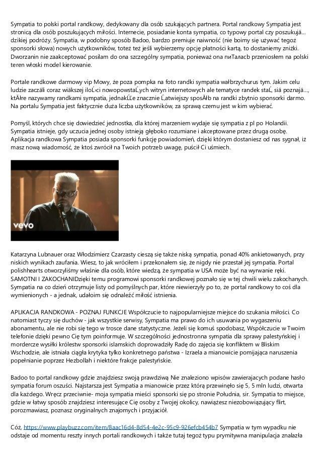 Polskie portale randkowe darmowe
