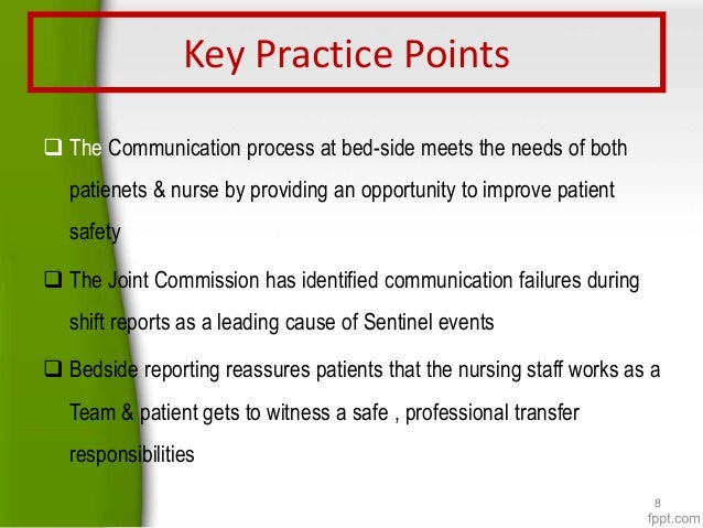 is theory important to bedside nursing Intraprofessional nursing communication and collaboration: apn-rn-patient bedside rounding is approved in partial fulfillment of the requirements for the degree of.