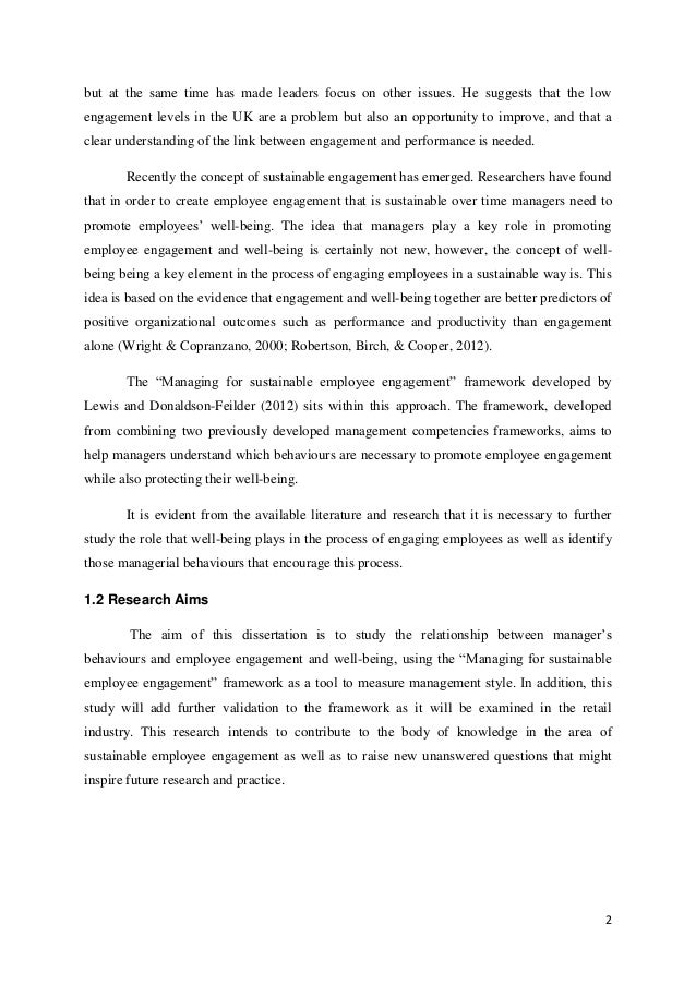 absenteeism dissertation Have been able to complete this dissertation • my special  absenteeism in the  organisation is a major problem for many south african organisations and it is a.