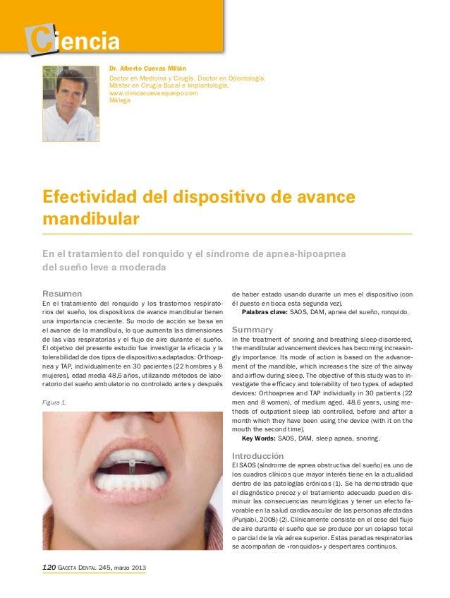 Ciencia                Dr. Alberto Cuevas Millán                       Doctor en Medicina y Cirugía. Doctor en Odontología...