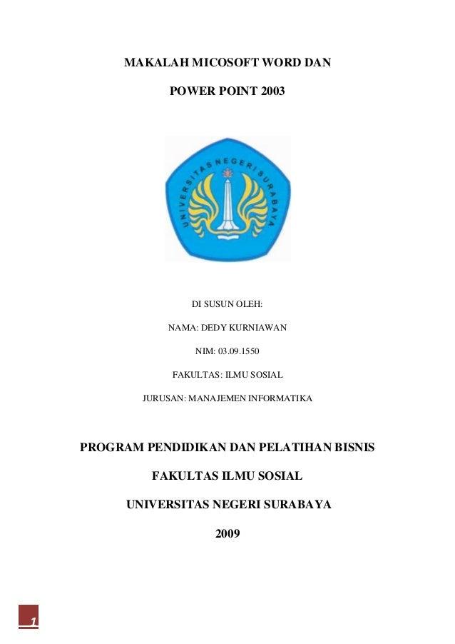 Pdf Makalah Microsoft Office Word Achmad Rizali Academia Edu