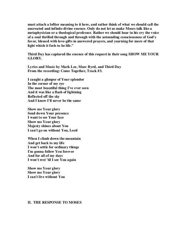 Lyric lyrics to same god : 24624480 moses-sees-god-s-glory