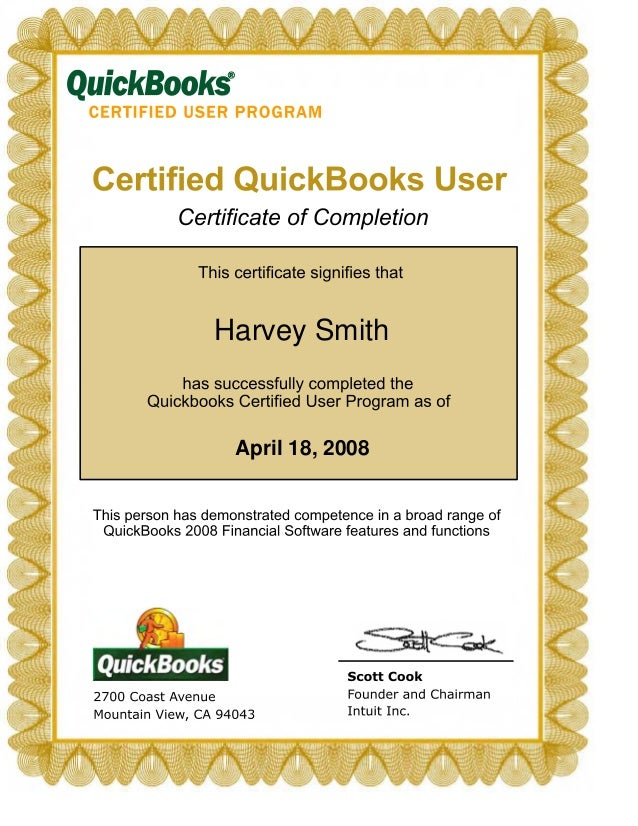 certifications bookkeeper accounting