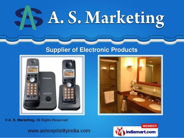 Supplier of Electronic Products