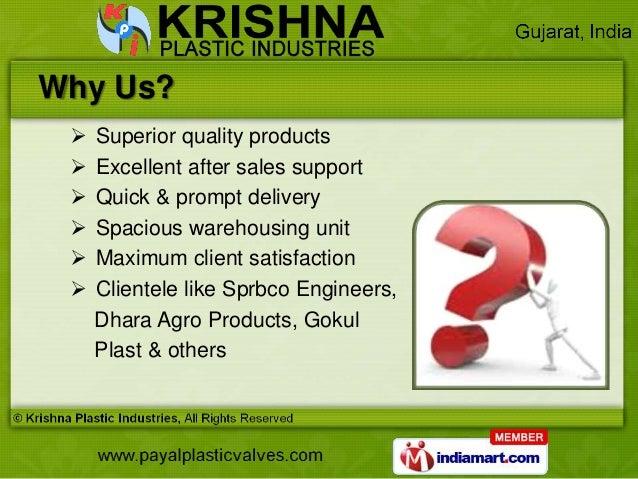 Industrial Valves & Flanges by Krishna Plastic Industries, Ahmedabad  Slide 3
