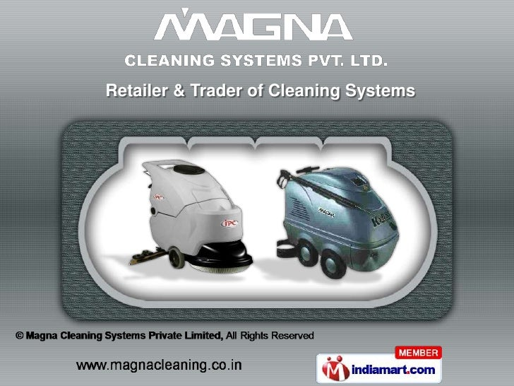 Retailer & Trader of Cleaning Systems