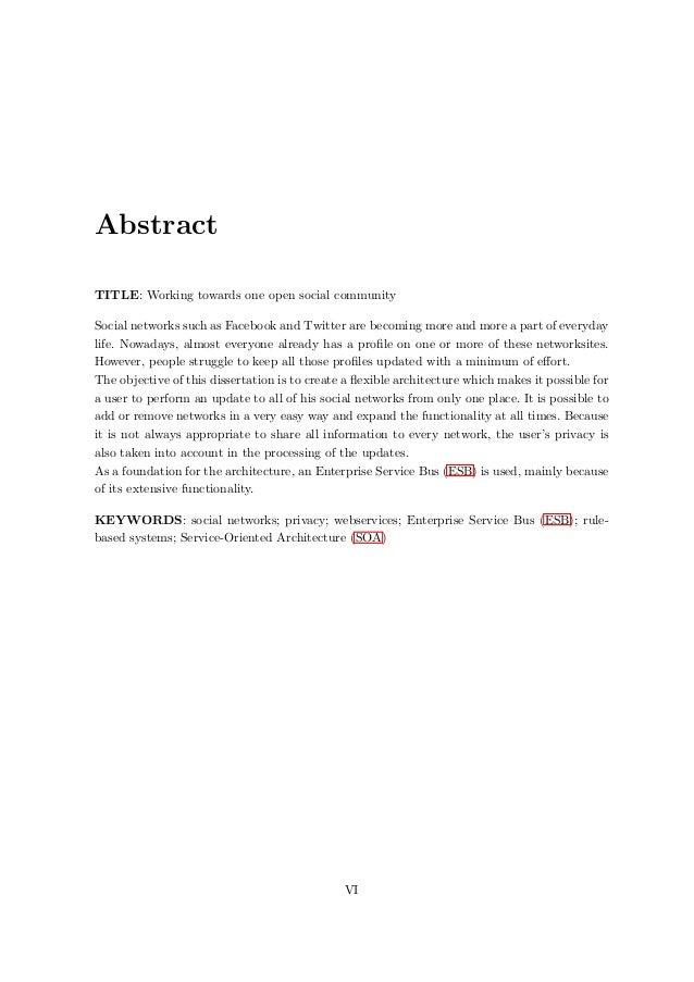 Voorbeeld thesis