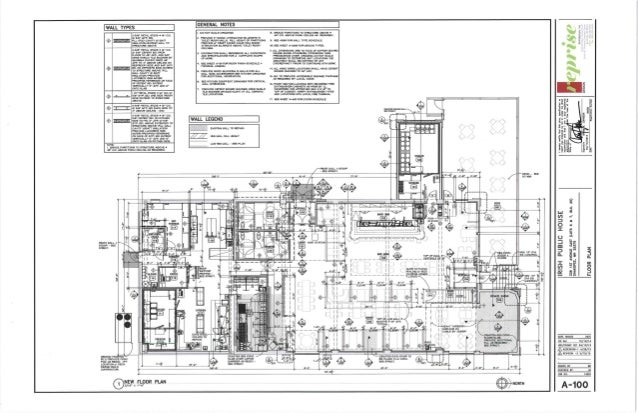 North side and detailed plans for the o 39 brien public house for Detailed house plans