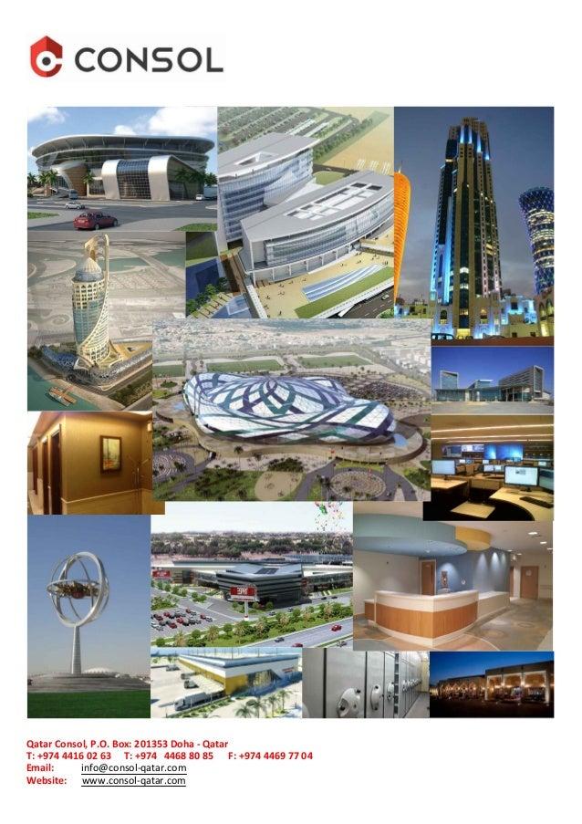 Qatar consol company profile qatar consol po box 201353 doha qatar email infoconsol company malvernweather Images