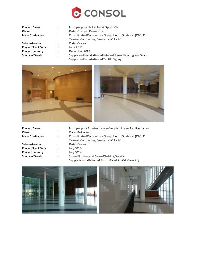 Qatar consol company profile external marble cladding 13 malvernweather Choice Image