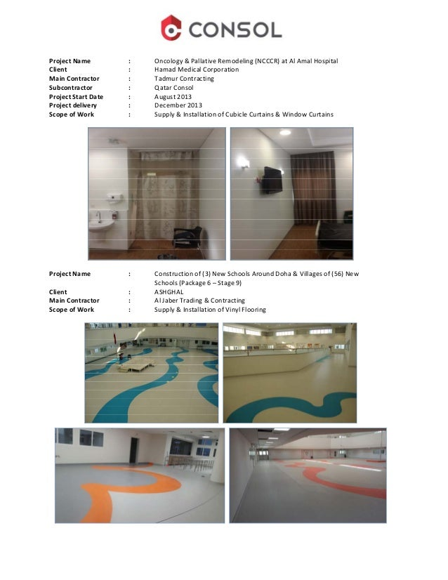 Qatar consol company profile flooring 21 malvernweather Choice Image