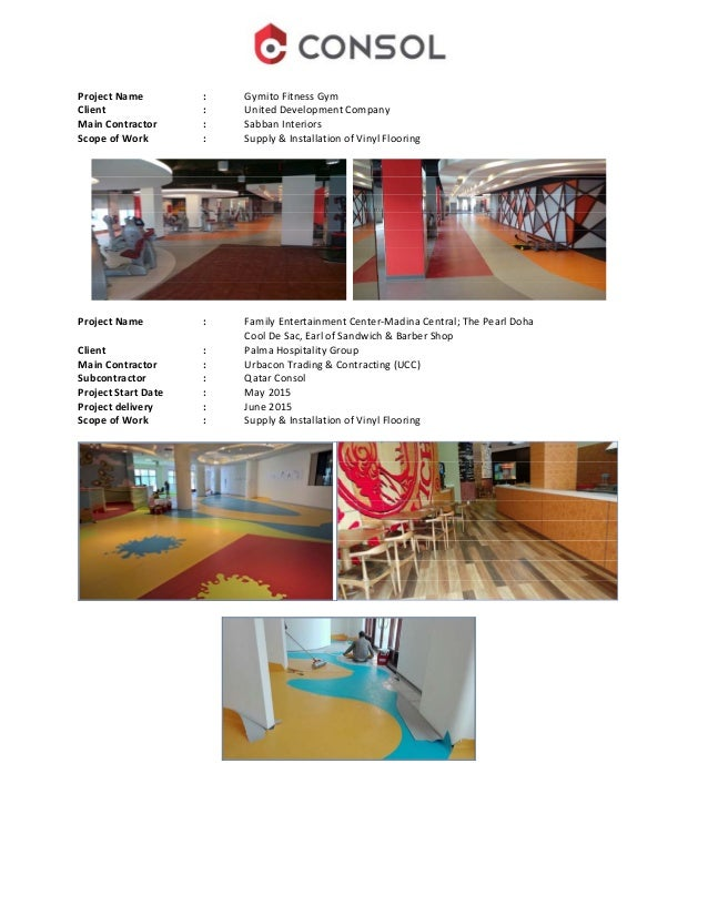 Qatar consol company profile rubber flooring 23 malvernweather Choice Image