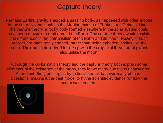 Capture Theory - Origin of the Moon