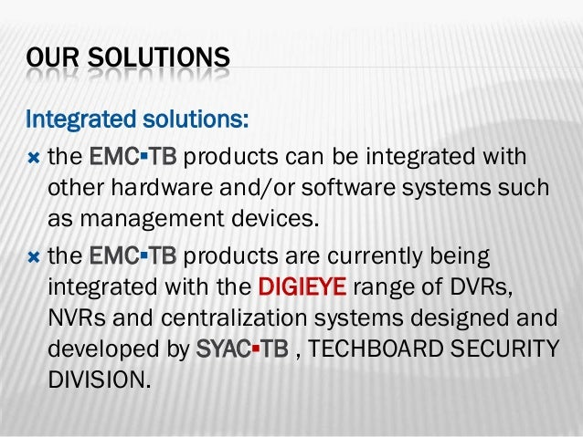 Emc tb february 2014 for Emc security systems
