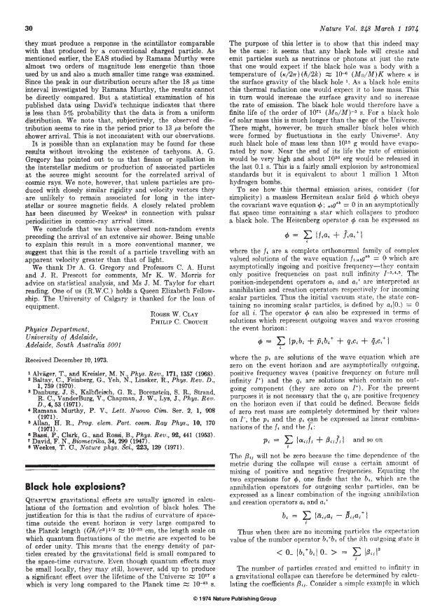 � 1974 Nature Publishing Group