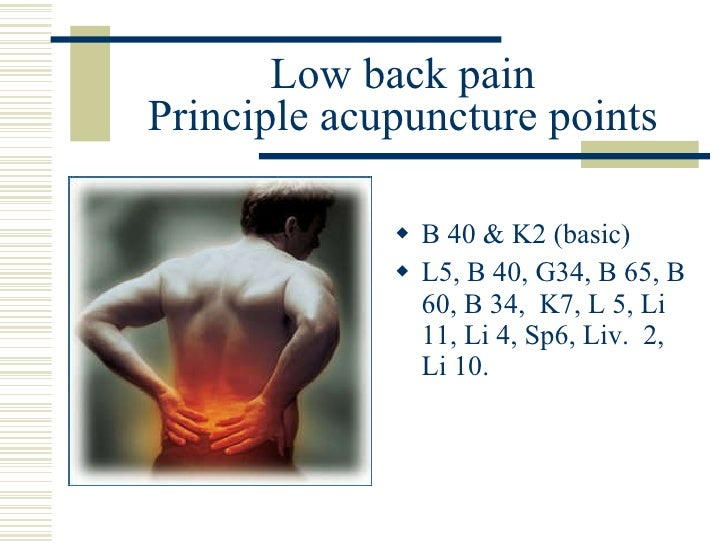 Acupuncture and Osteoarthritis