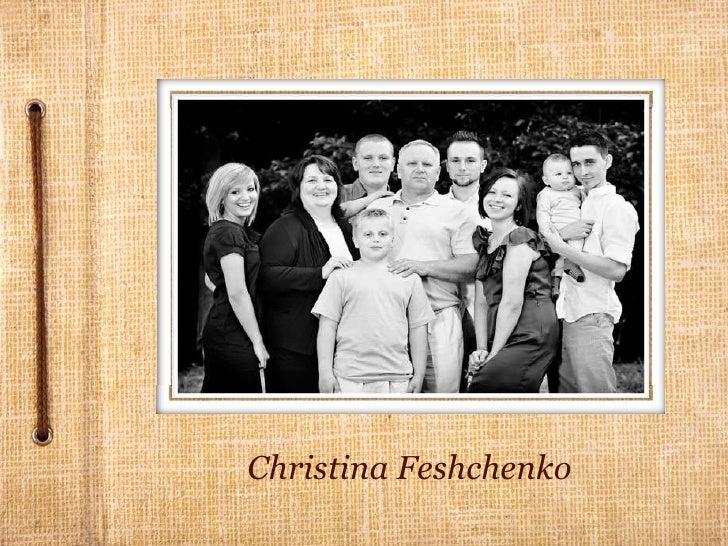 Christina Feshchenko