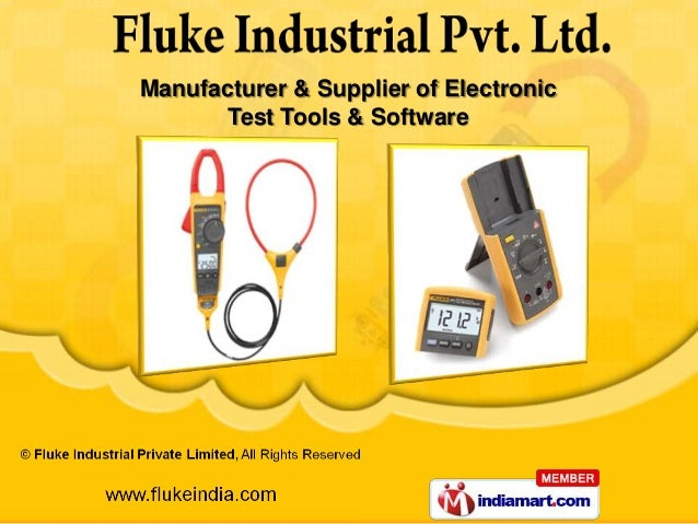 Manufacturer & Supplier of Electronic       Test Tools & Software