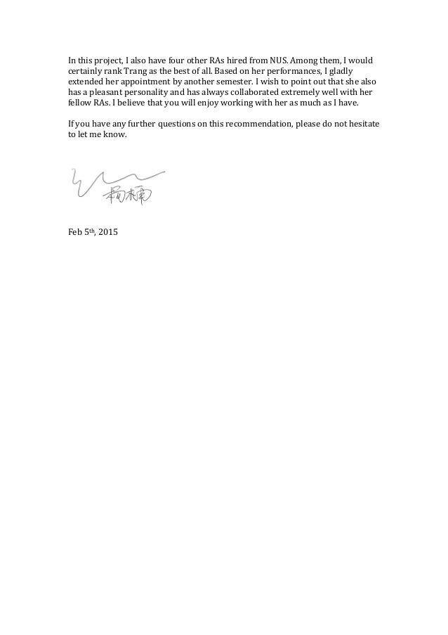 Reference Letter - IT Specialist