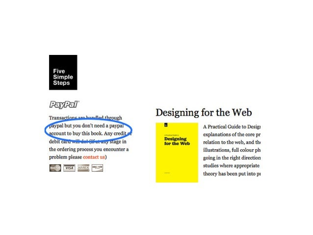 A Practical Guide to Designing for the Web Five Simple Steps