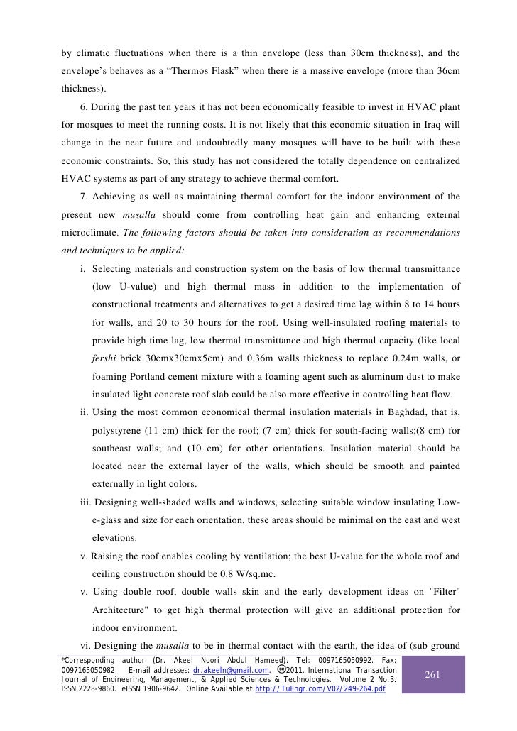 case study of thermal comfort in Modeling thermal comfort and optimizing local renewal strategies—a case study of dazhimen neighborhood in wuhan city chong peng 1, tingzhen ming 2,, .