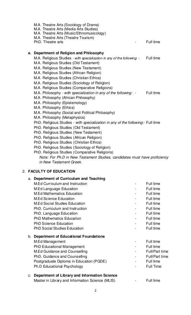 Bsu Postgraduate Admission 20162017 Alluniversitynews