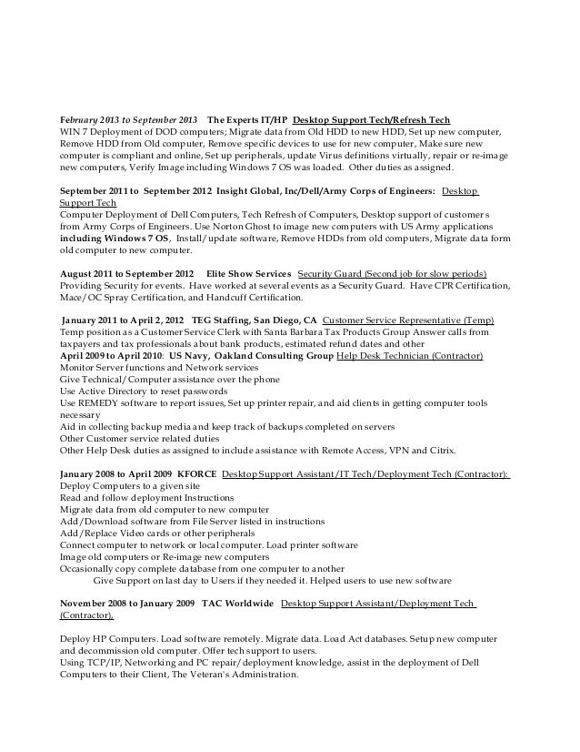 HelpdeskDesktop Resume 41715