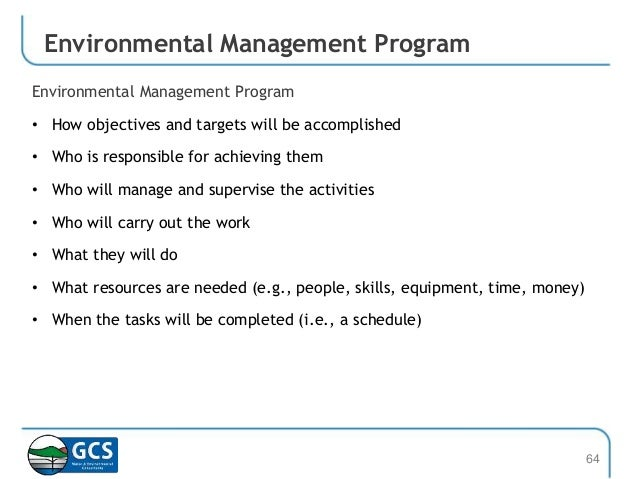 Environmental Management Systems - ISO 14001