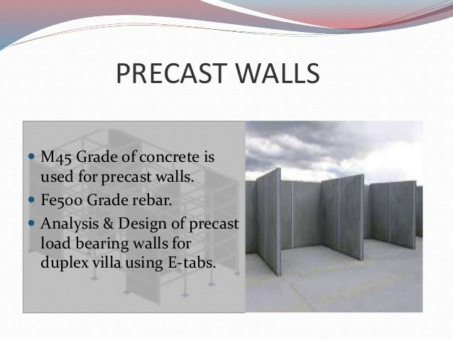 Precast concrete construction ppt.